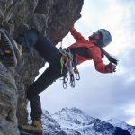 Klettern am Eiger vor der Kulisse der Jungfrau  Photo by Christof Sonderegger